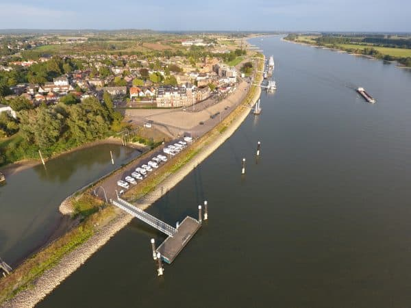Luchtfoto Rijn Tolkamer