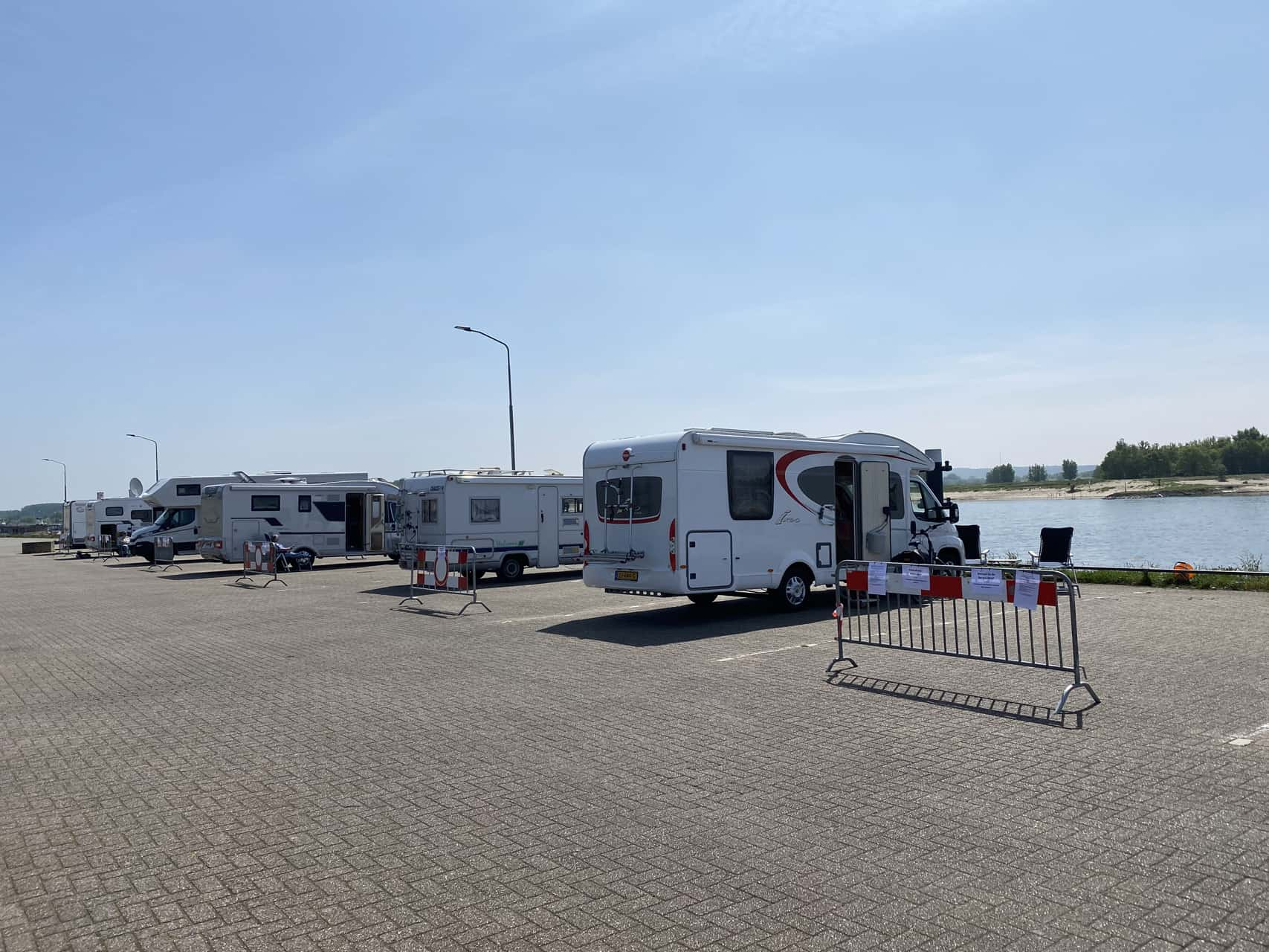 camperplaats geopend